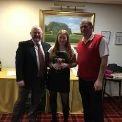 Coupe Cup winners were                                                              Laura and Martin Harvey