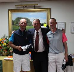 3rd Place  -  Micheal Green (Belton Park)/Gavin Green (SRGC)  -  Level  on Countback