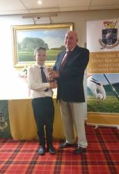 Best Nett Score and Winner of the Captains Trophy-Ben Rawson